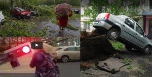 Furtună violentă la Moscova: 13 morţi şi peste 50 de răniţi - VIDEO