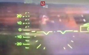 Atacul accidental de la Zapad 2017, surprins din cabina piloţilor. Momentul în care elicopterul militar trage în civili