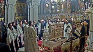 Transmisiune în direct de la Mănăstirea Putna - Priveghere la punerea în raclă a moaștelor Sf. Ierarh Iacob Putneanul