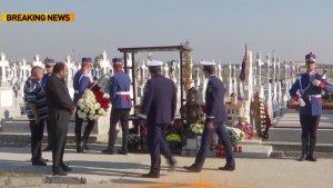 Doi ani de la moartea lui Bogdan Gigină. Imagini emoționante de la mormântul polițistului
