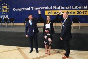 Deputatul Mara Mareş a devenit preşedintele Tineretului Național Liberal