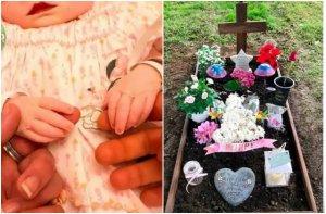 O mamă a postat poze cu fetița ei moartă, după ce aceasta a murit otrăvită în pântece