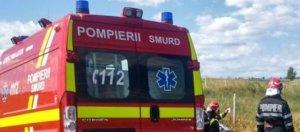 Motorul autocarului care transporta 27 de suporteri ai echipei Gaz Metan Mediaş a luat foc