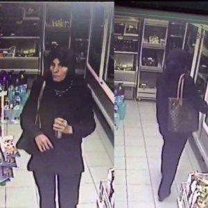 Imagini cu criminala între cele două atacuri. Ce a făcut femeia în timpul când nu era căutată