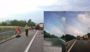 VIDEO CUTREMURĂTOR în cazul tragediei din Ungaria. Şoferul microbuzului făcea Live pe Facebook în momentul accidentului