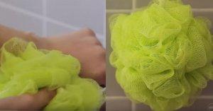 Te speli cu acest tip de burete la duș? Aruncă-l imediat sau pregătește-te de ce e mai rău! Uite de ce!