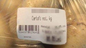 """Un brăilean s-a dus într-un supermarket și și-a pus în coș trei kilograme de cartofi. Când a ajuns la casă, a crezut că nu este adevărat. """"Băi ești nebun?"""" (FOTO)"""