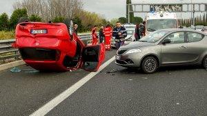 Accident grav pe Autostrada Soarelui! A fost solicitat elicopterul SMURD!