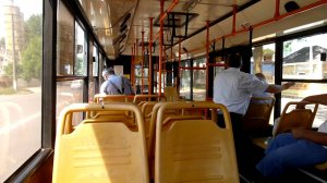 S-a urcat în autobuzul 44 din Constanța, când brusc s-a întâmplat ceva de-a dreptul halucinant. A fost nevoie de intervenția poliției