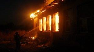 Incendiu puternic la o școală din județul Harghita. Un echipaj SMURD a intervenit de urgență - FOTO