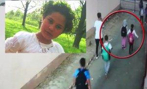 """Fratele Mihaelei, copila din Dâmbovița care a dispărut: """"Se vede pe camere că fata s-a speriat. O trăgea cineva. Fata e luată"""""""