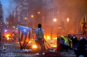 Dezvăluire-bombă. România, implicată fără voie în protestele violente din Barcelona