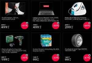 eMAG Black Friday 2019 incepe in forta! Laptop la 500 de lei plus alte 11 produse ieftine