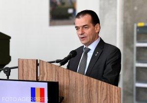"""Premierul Ludovic Orban: """"Vom da ordin de începere a lucrărilor pe drumul expres Craiova-Piteşti"""""""