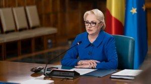 """Viorica Dăncilă: """"Vedem un preşedinte arogant care îi sfidează pe români, înţeleg că nu are ce să spună că în cinci ani de zile nu a făcut nimic"""""""