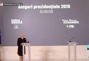 Dăncilă: Trebuia să fie o confruntare cu Iohannis. I-am adus trei daruri