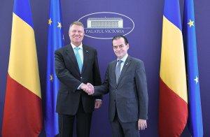 Neînțelegeri între președintele Iohannis și Ludovic Orban, pe asumarea legii bugetului