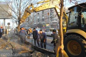 Avarie după avarie! Sute de familii din Bucureşti stau fără apă caldă şi căldură