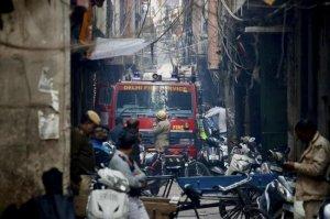 Incendiu devastator la o fabrică din India. Sunt peste 40 de morți! Imagini apocaliptice!