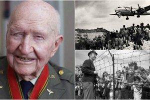 Omul care a făcut să plouă cu dulciuri. 23 de tone i-au salvat pe copiii pe care comuniștii îi voiau morți