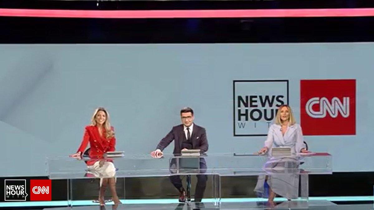 VIDEO - News Hour with CNN, lider absolut de audienţă între programele  televiziunilor de ştiri. Pe...